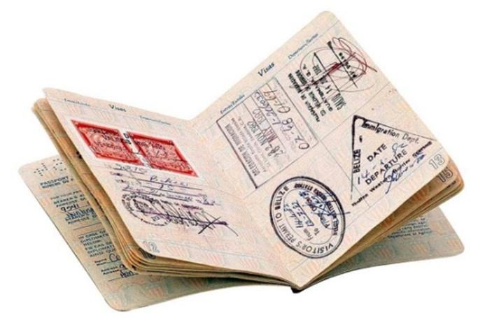 второй загранпаспорт